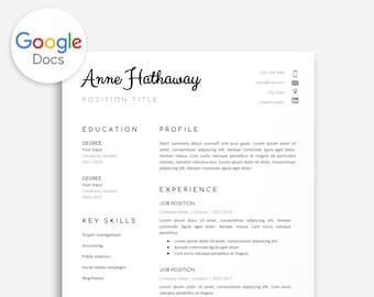 Professioneel Cv Sjabloon voor Google Docs Geel Cv Google
