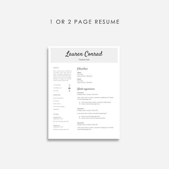 Google Docs Resume Template Bundle 3x Resume Google Docs Google Doc Resume Template Google Doc Resume Bundle No Microsoft Word