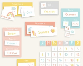 Morning Board for Kids | Printable & Editable