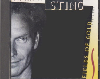 The Best of Sting - Fields of Gold  / 1994 Full Length CD  / 14 Tracks - When We Dance, All This Time, Be Still My Beating Heart