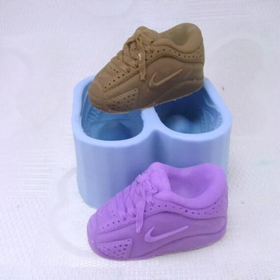 Paar Nike Schuhe Soap Mold Flexible Silikonform Fur Etsy