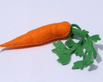 1 felt Carrot