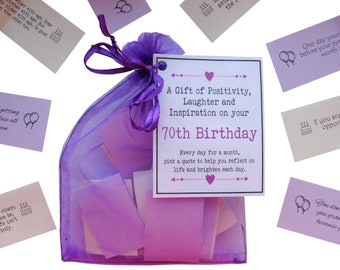 70th Birthday Quotes Gift Of Positivity Laughter And Inspiration 31 Inspirational Messages For A Month