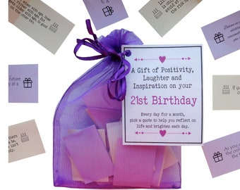 21st Birthday Quotes Gift Of Positivity Laughter And Inspiration 31 Inspirational Messages For A Month