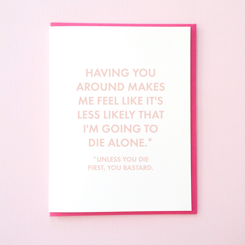 Funny Valentines Day Card Valentine For Husband Etsy