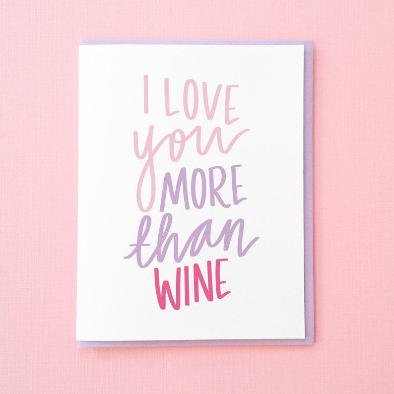 Wine Card Funny Birthday Best Friend