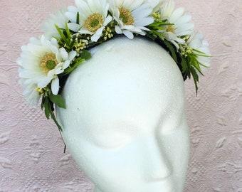 Spring Queening Full Daisy Crown