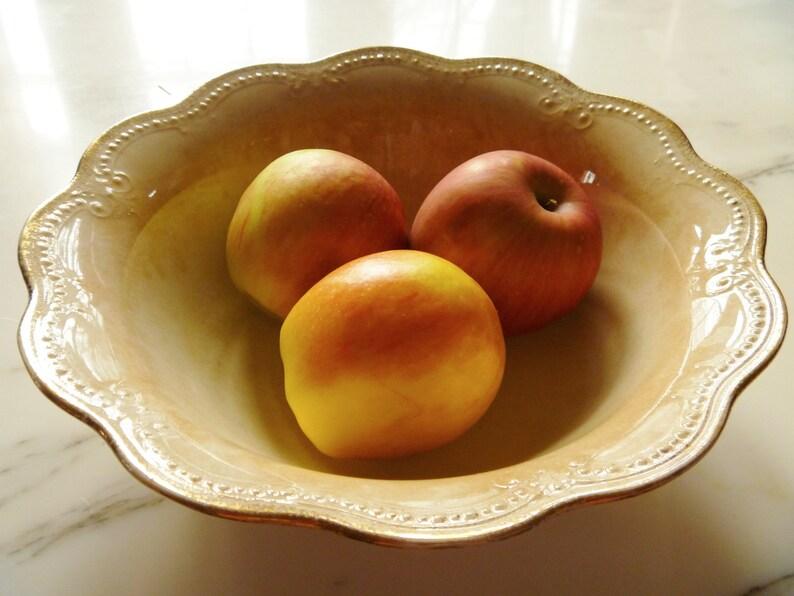 Shabby Chic Porcelain Bowl Fruit Bowl Serving Bowl Vintage Limoges Bowl