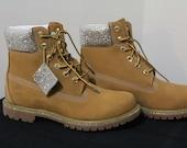 Bling Timberland Boots Hang Tag