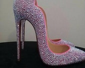 Louboutin Shoes, Strass Shoes, Louboutin Hot Chick, Louboutins, Louboutin Strass Shoes, Christian Louboutin Shoes, Red Bottoms, Red Soles