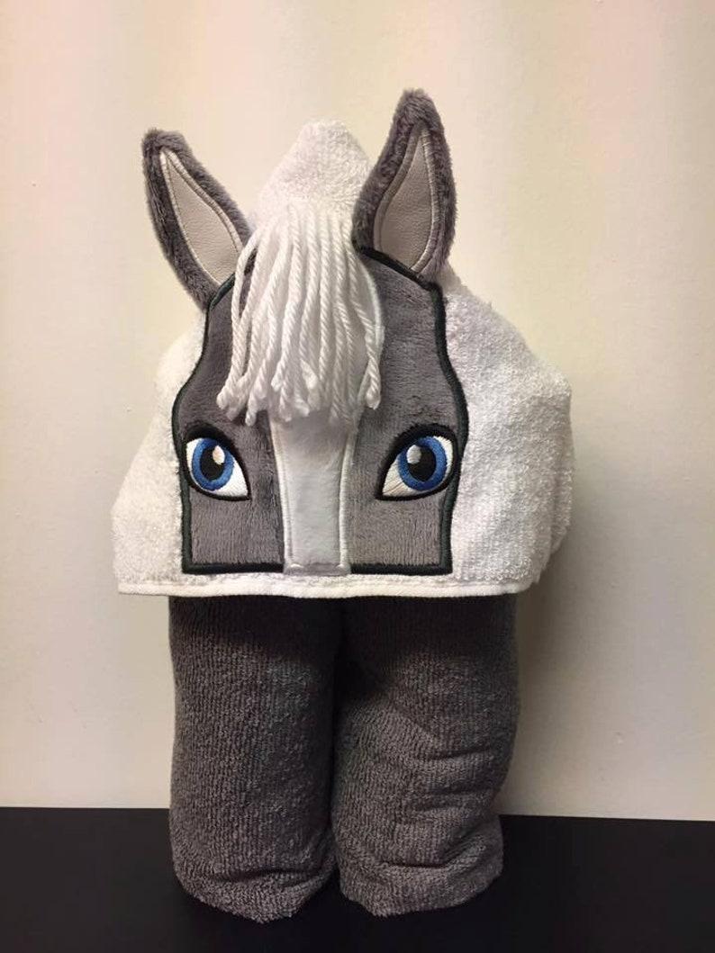 Horse Towel Child Towel Boy Horse Towel Girl Horse Towel Infant Towel Infant Gift Hooded Towel Character Towel Child Birthday Gift