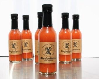 Strawberry and Habañero Hot Sauce