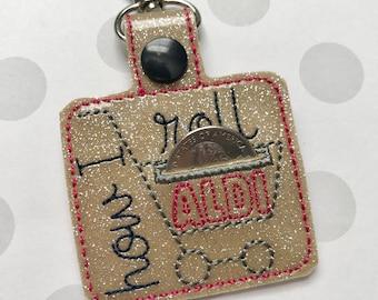 Aldi Quarter Keeper, Aldi keyfob, How I Roll