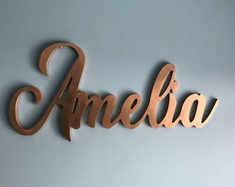 Name Sign - Wooden Name Sign - Name - Personalized Wall Sign