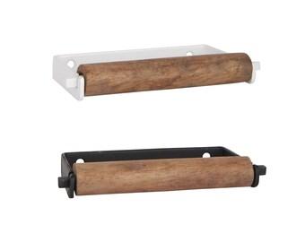 Toilettenpapierhalter Holz Etsy