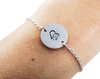 925 Silver Plt 'No Longer By My Side But Forever In My Heart' Loss Of Dog C necklace pendant watch