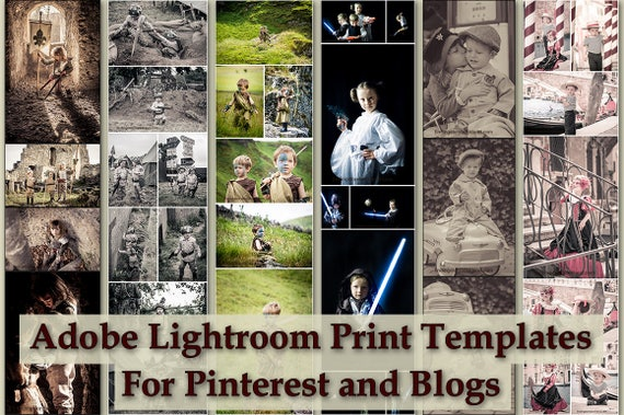 Adobe Lightroom 56 And Cc Print Template Collection