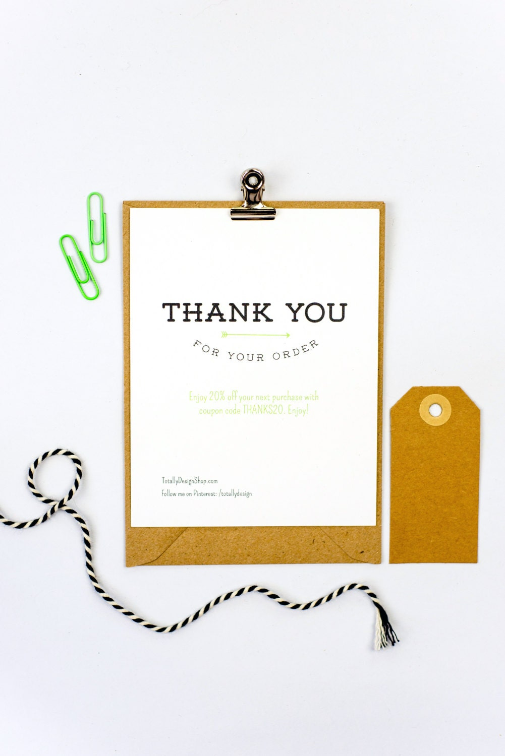 It's just a picture of Smart Thank You for Your Purchase Printable