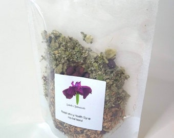 Respiratory Health Support Syrup Kit - A warming blend of organic herbs with elderberries