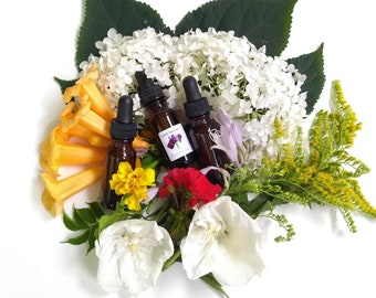 Magickal Flower Essences - for the magickally inclined in single essence or blend of up to 5