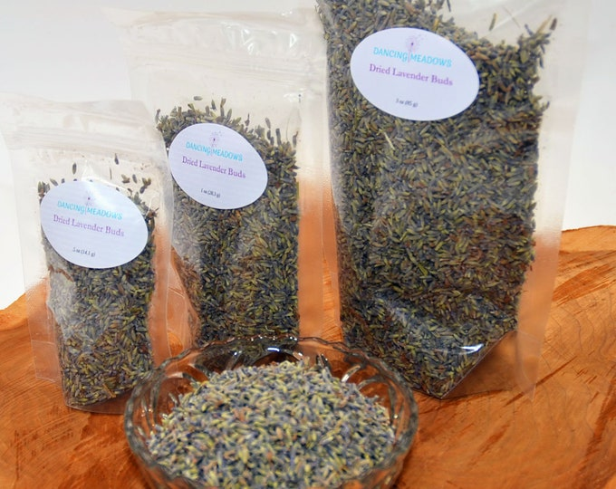 4oz Dried French Lavender buds, crafts, wedding favor, wedding toss, bulk lavender, beautiful fragrance, stress relief, anxiety relief