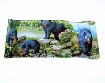 Bear rice or flax seed heating pad,  heat therapy, pain relief, muscle aches, menstrual cramps, inflammation, washable cover, lavender