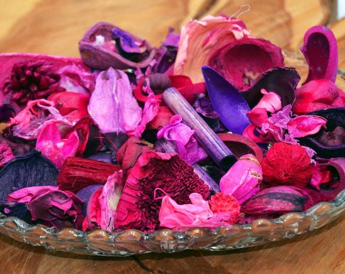 Sea Salt and Driftwood Potpourri, decorative and fragrant beach type scented potpourri 1/4 pound