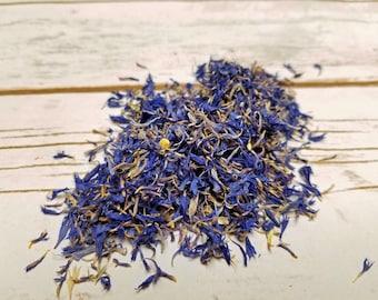 Dried Blue Cornflower Petals 4 oz