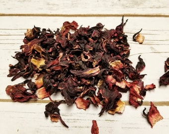 1 Pound Dried Hibiscus Petals, flowers for wedding toss, shower gifts, soap making, lotions, beauty care, crafts, cosmetics