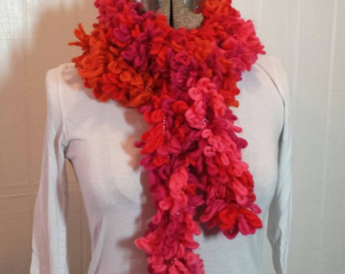 Handmade fun and fashionable scarf for any occasion.