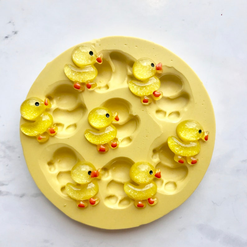 Duck Food Safe Silicone Mould For Sugar /& Polymer Clay Crafts