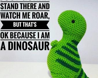 Crochet Trex Dinosaur