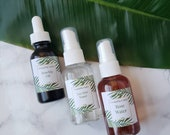 Tea Tree Toner Rose Water and Rosehip Seed Oil Skin Toner Bundle
