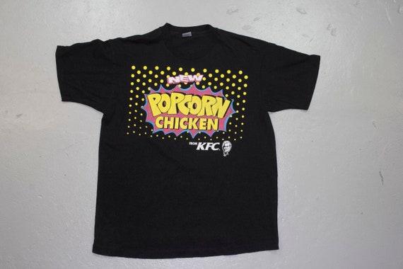 vintage MC HAMMER x KFC Popcorn Chicken shirt - 90