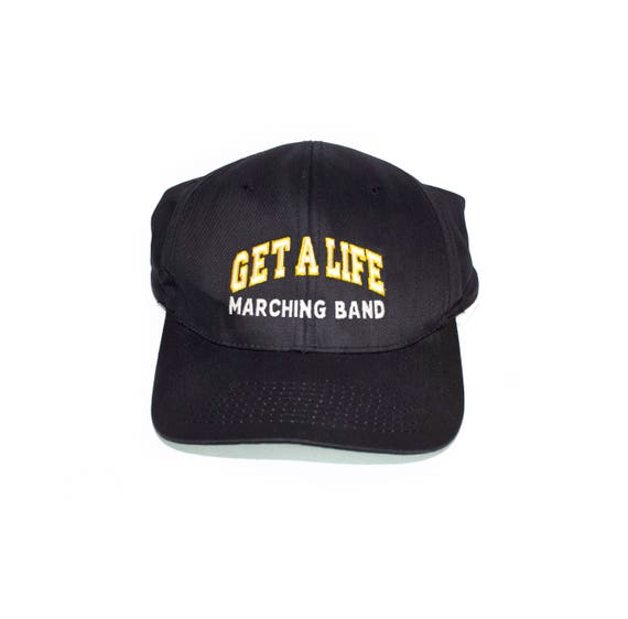 6eab562c48db3 get a life marching band snapback dad hat vintage
