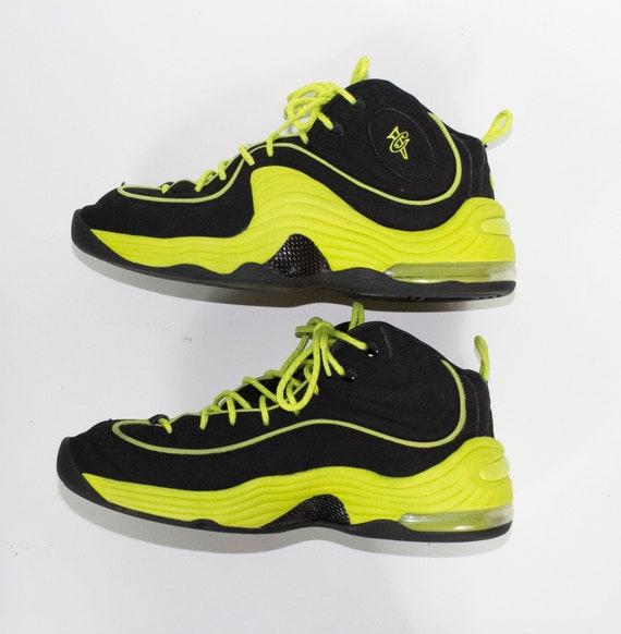 Nike Air Penny II LE LE II Noir Cyber volt neon 535600 003 Etsy e15af0