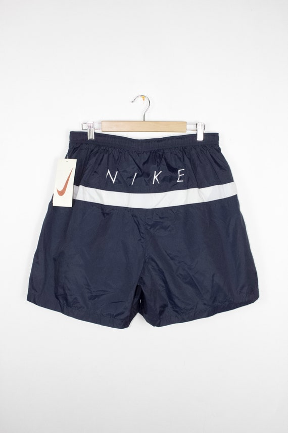 6d9fe966f78b8 deadstock vintage 90s nike swim trunks 1990s shorts nwt | Etsy