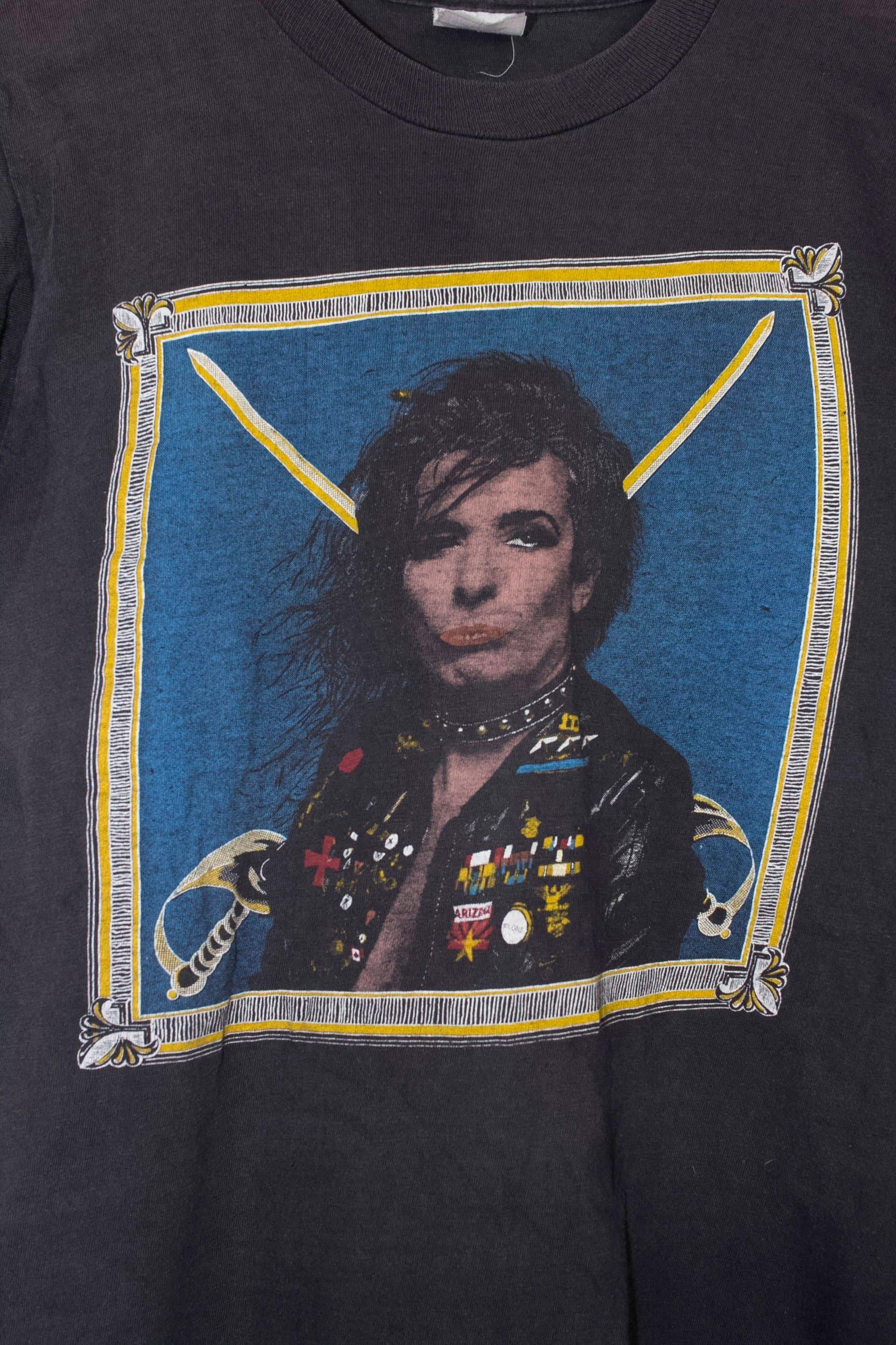 80 s - ALICE COOPER t-shirt - s vintage début des années 1980 - forces spéciales - rare f0954e