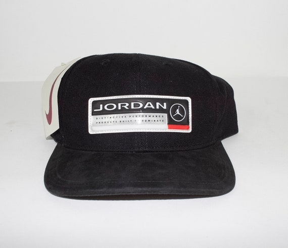 c73dd8b4fd174 ... low cost deadstock vintage nike air jordan hat jumpman logo new etsy  00938 9653c