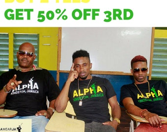Special! Buy 2 tees and the 3rd is 50% off!