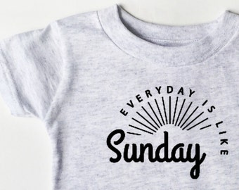 The Smiths - Every Day Is Like Sunday shirt for toddlers and youth!