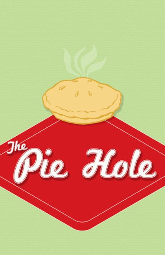 Pushing Daisies Pie-Loch 11 x 14 | Etsy