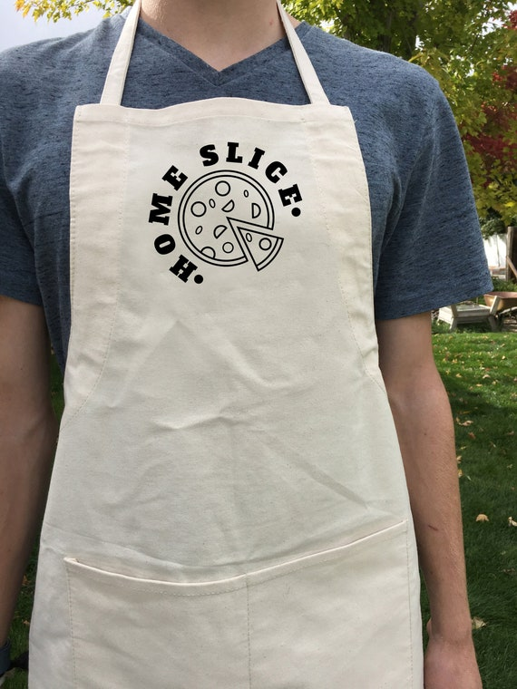 Home Slice Pizza Apron Great Gift
