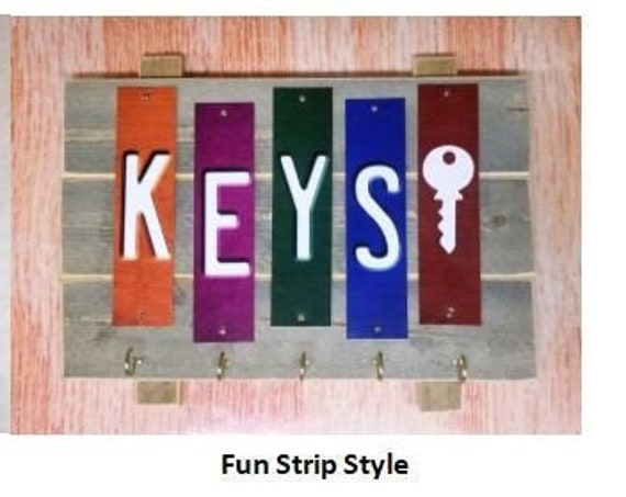 Strip Key Plaque (two styles)