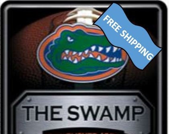 Florida Gators Large Metal Sign