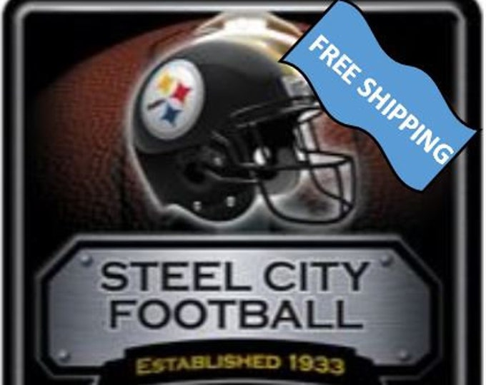 Pittsburgh Steelers Large Metal Sign