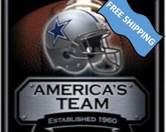 Dallas Cowboys Large Metal Sign