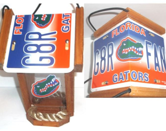 Florida Gators Two-Sided Cedar Bird Feeder (Style #1)