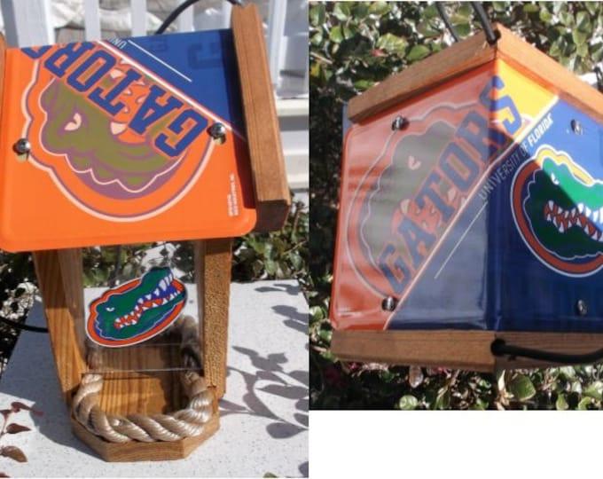 Florida Gators Two-Sided Cedar Bird Feeder (SI Series)