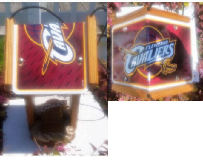 Cleveland Cavaliers Cedar Two Sided Bird Feeder
